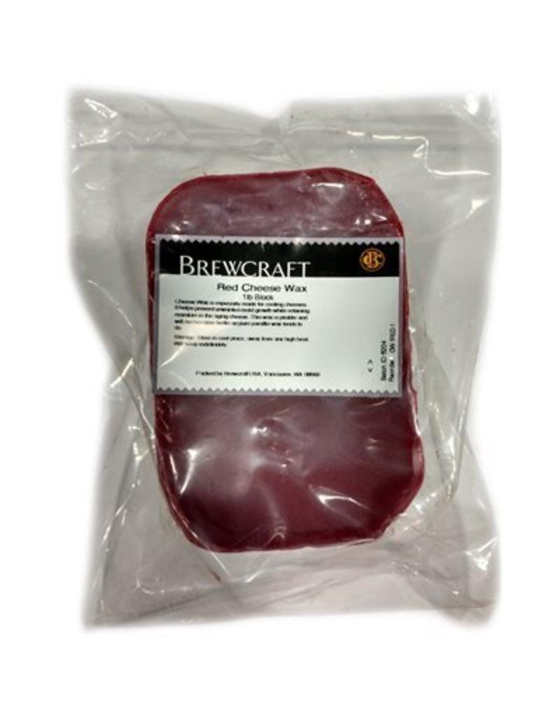 Burgundy Red Cheese Wax 1 LB
