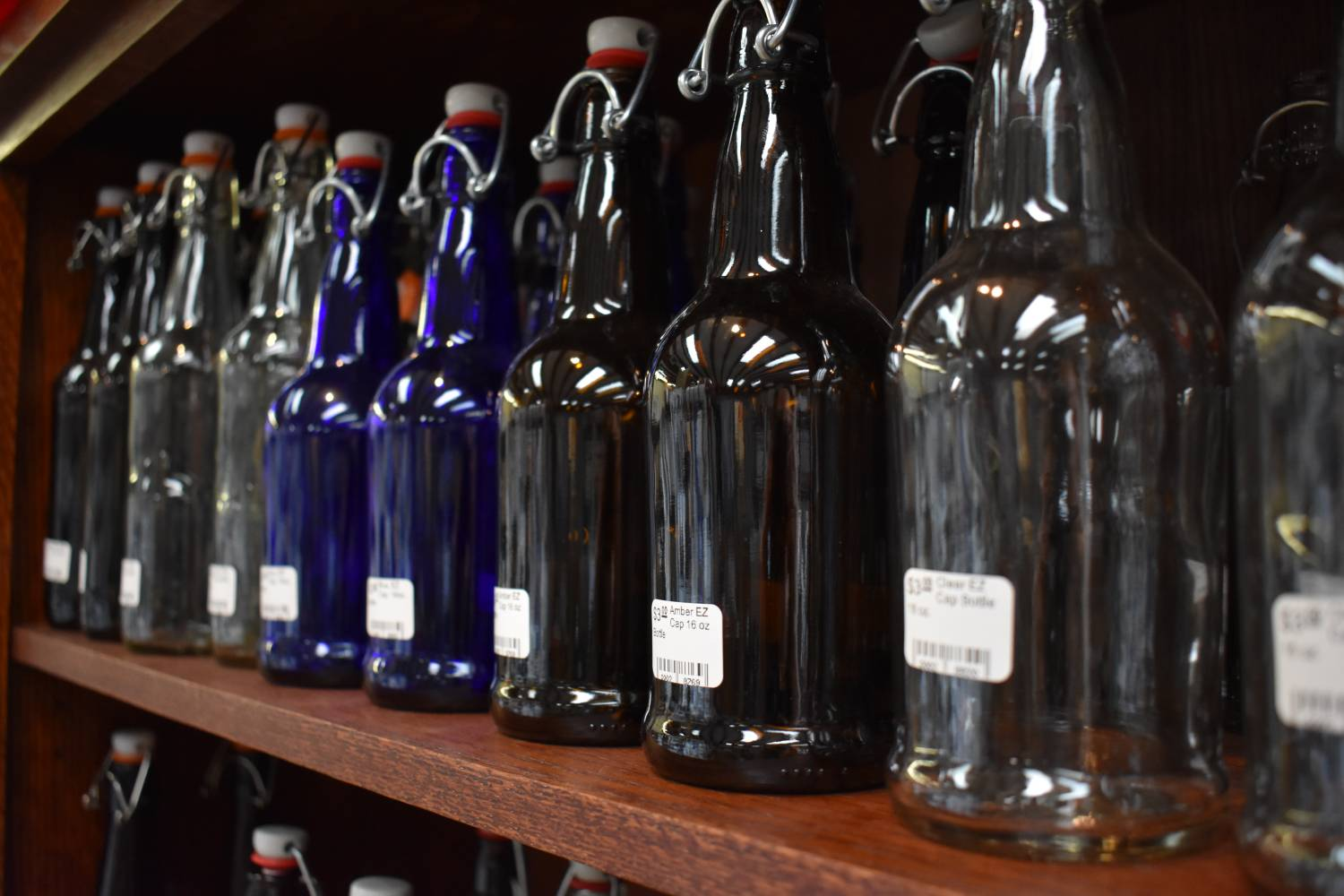 Bottles for beer, wine, kombucha, spirits, and more!!