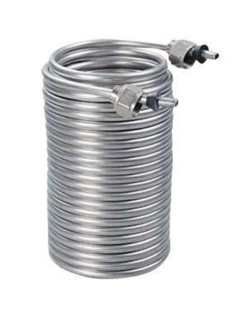 """Krome SS304 Cooling Coil - 50' x 5/16"""" OD"""