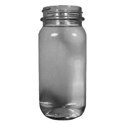 750ml Flint Mayberry Jar Spirit Bottle