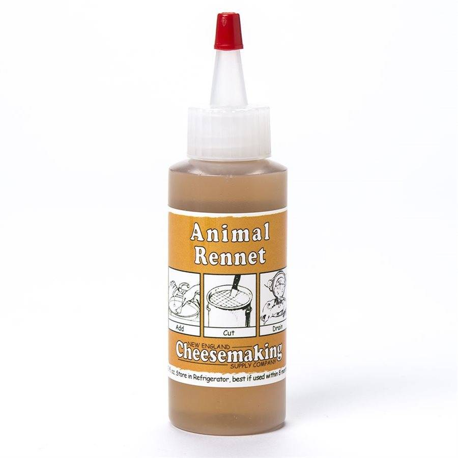 New England Cheesemaking Liquid Animal Rennet, 2oz.