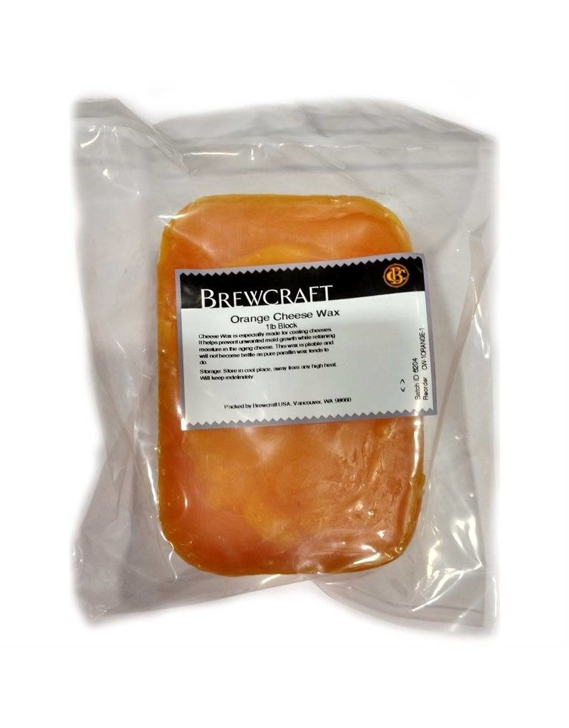 Brewcraft USA Orange Cheese Wax