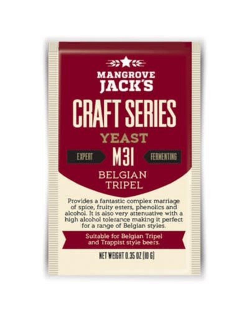 Mangrove Jack's Belgian Tripel Yeast M31, 10g