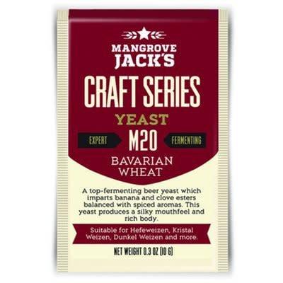 Mangrove Jack's Bavarian Wheat Yeast M20, 10g