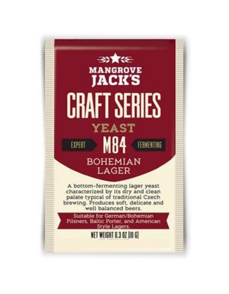 Mangrove Jack's Bohemian Lager Yeast M84, 10g