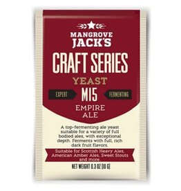 Mangrove Jack's Empire Ale Yeast M15, 10g