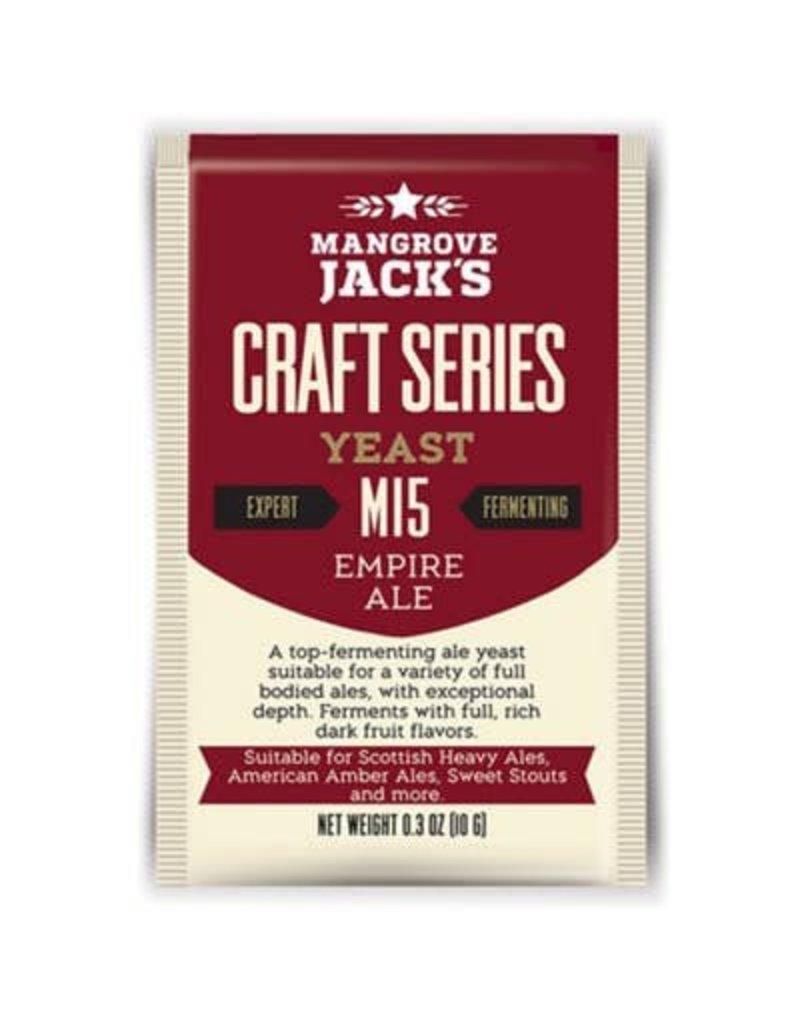 Mangrove Jack's Empire Ale Yeast M15, 10g