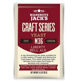 Mangrove Jack's Liberty Bell Ale Yeast M36, 10g