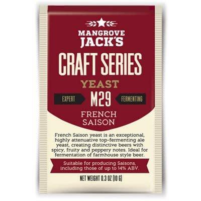 Mangrove Jack's French Saison Yeast M29, 10g