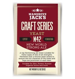 Mangrove Jack's New World Strong Ale Yeast M42, 10g