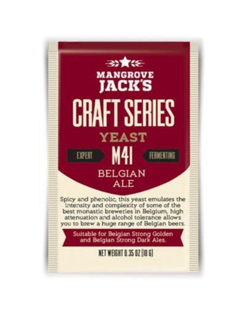 Mangrove Jack's Belgian Ale Yeast M41, 10g