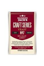 Mangrove Jack's Belgian Abbey Yeast M47, 10g