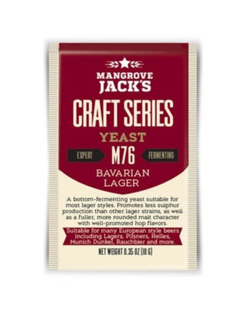 Mangrove Jack's Bavarian Lager Yeast M76, 10g
