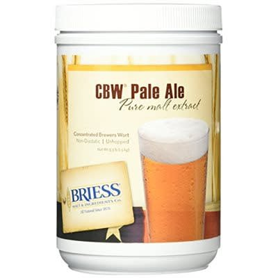 Briess Malt CBW Pale Ale Liquid Malt Extract (LME), 3.3 lb. Jar