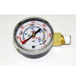 TapRite Pressure Gauge, 0-3000 PSI
