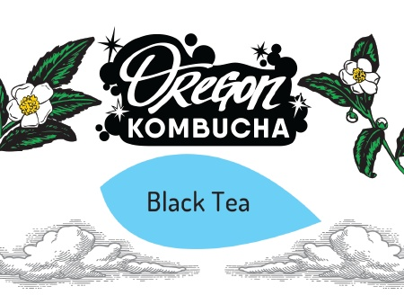 Oregon Kombucha Black Tea Bag