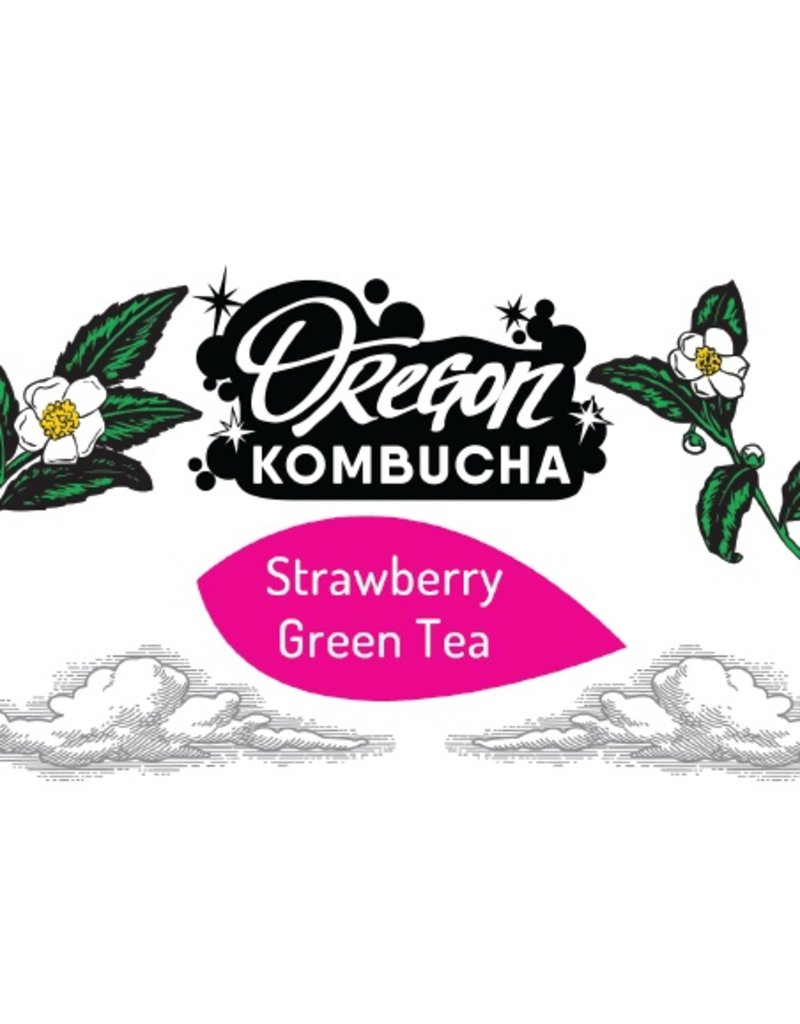 Oregon Kombucha Strawberry Green Tea Bag