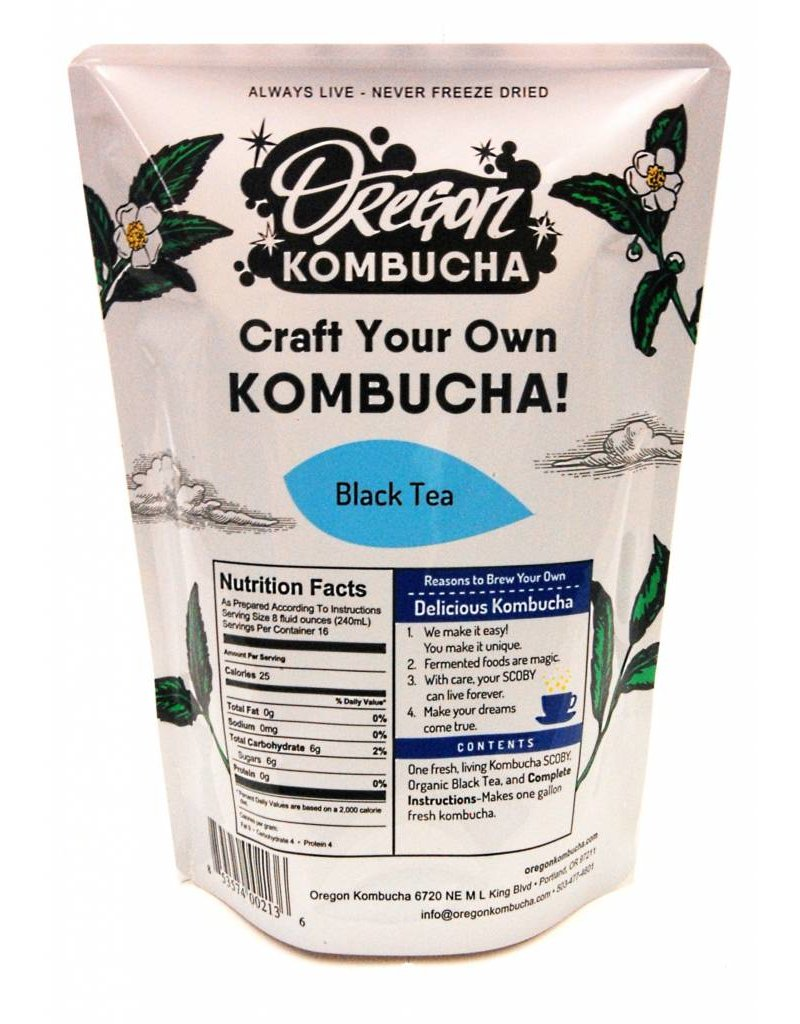 Oregon Kombucha Kombucha Starter, Black Tea