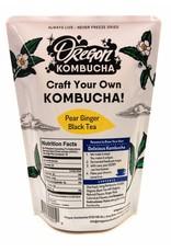 Oregon Kombucha Kombucha Starter, Pear Ginger Black Tea