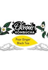 Oregon Kombucha Pear Ginger Black Tea Bag