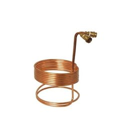 "3/8"" x 25' Copper Wort Chiller w/ Fittings"