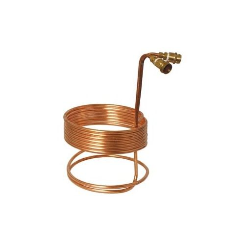 """3/8"""" x 25' Copper Wort Chiller w/ Fittings"""