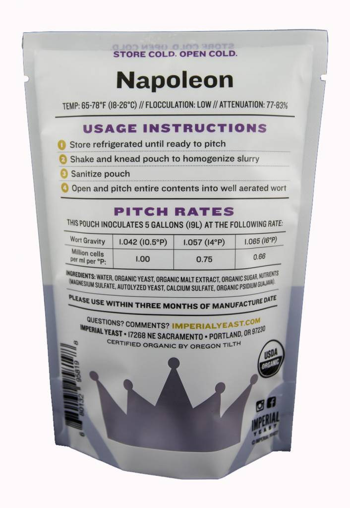 Imperial Organic Yeast B64 Napoleon - Imperial Organic Yeast