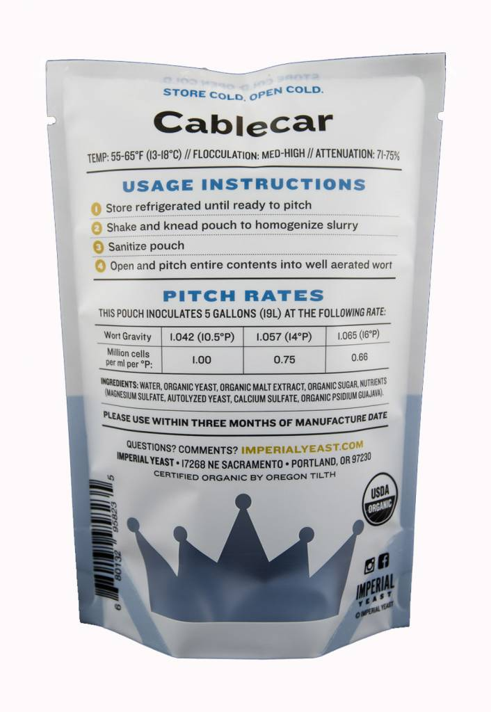 Imperial Organic Yeast L05 Cablecar - Imperial Organic Yeast