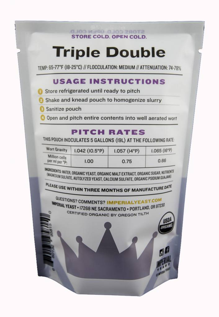 Imperial Organic Yeast B48 Triple Double - Imperial Organic Yeast