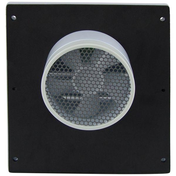 Sam Allen Ventilation Fan - Solar - Wall Mounted - White