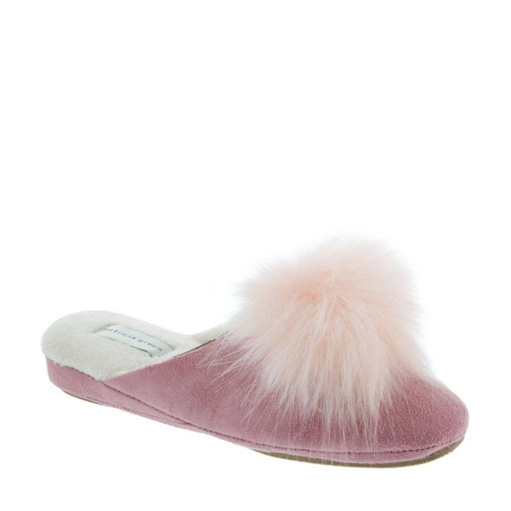 Patricia Green Pretty Pouf Slippers ala Zsa Zsa Gaa Gaa and More