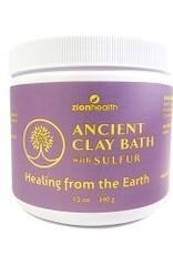 ZionHealth Adama Ancient Clay Bath w/Sulfur 12 oz.