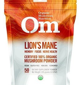 Mushroom Matrix LION'S MANE, OG1, PWD, 100G 100% Organic