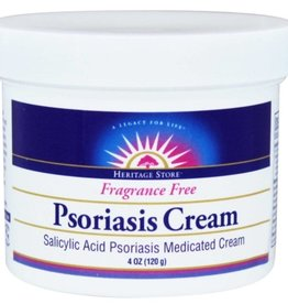 Heritage Psoriasis Salicylic Acid Medicated Cream 4oz