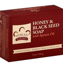 Nubian Nubian Honey Black Seed Soap 5oz