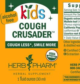 Herb Pharm Kids Cough Crusader - 1 fl oz