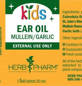 Herb Pharm Kids Ear Oil - 1 fl oz