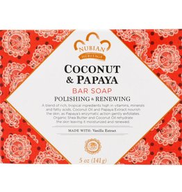 Nubian Nubian Coconut/Papaya Soap 5oz