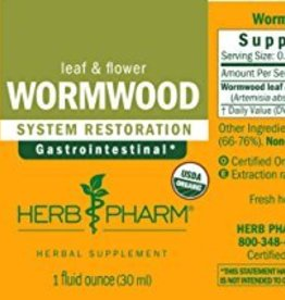 Herb Pharm Wormwood Ext- 1 fl oz