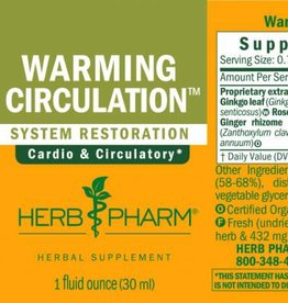 Herb Pharm Warming Circ Tonic - 1 fl oz