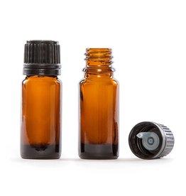 Glass Vial 1/3 fl oz -Amber