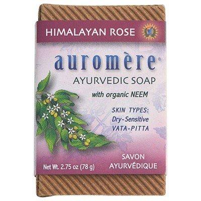Auromere Auromere Soap Himalyan Rose 2.75oz