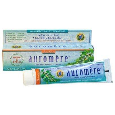 Auromere Auromere Toothpaste Licorice 4.16oz