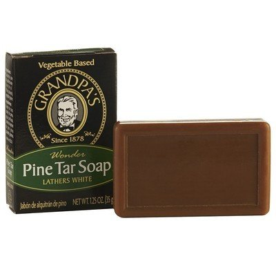 Grandpa's Grandpas Pine Tar Soap 3.25oz