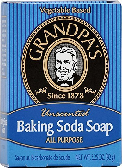 Grandpa's Grandpas Baking Soda Soap 3.25oz