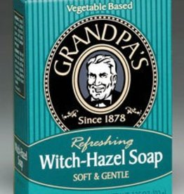 Grandpa's Grandpas Witch Hazel Soap 3.25 oz