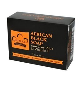 Nubian Nubian African Black Soap 5oz