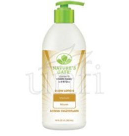Natures Gate Lotion; Glow Medium 18 Fl Oz