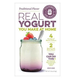 Cultures For Health Traditional Flavored Yogurt Starter Kit