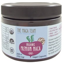 The Maca Team Black Maca Caps, CO, 750mg 200 ct